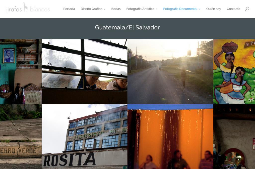 Guatemala El Salvador   Jirafas Blancas